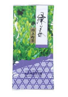 深蒸し緑茶 特上粉茶 [F201]